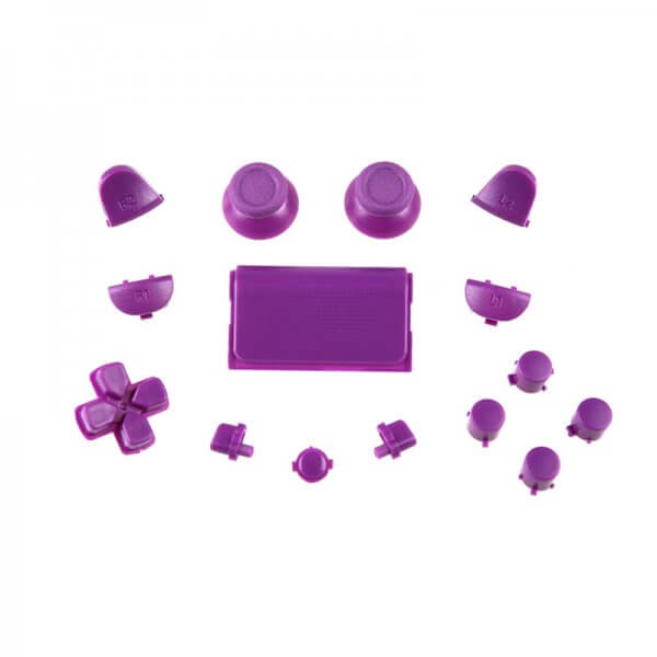 Buttons replacement PS4 Controller paars