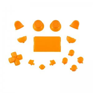 Buttons replacement PS4 Controller oranje