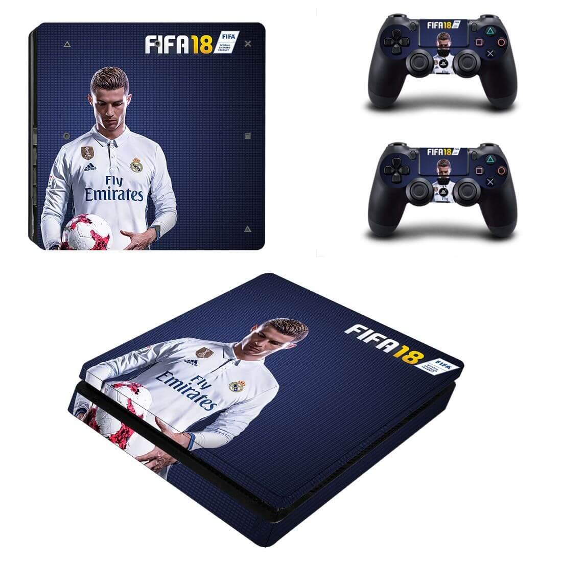 FIFA 18 Ronaldo PS4 Slim skin