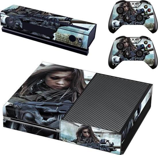 Armed Girl Xbox One skin