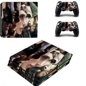 Superheroes PS4 Pro skin