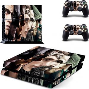 Superheroes PS4 skin