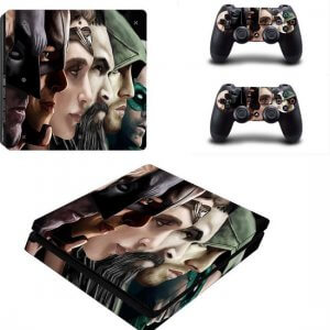 Superheroes PS4 slim skin