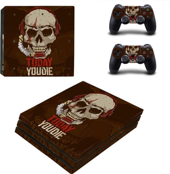Today you die PS4 Pro skin