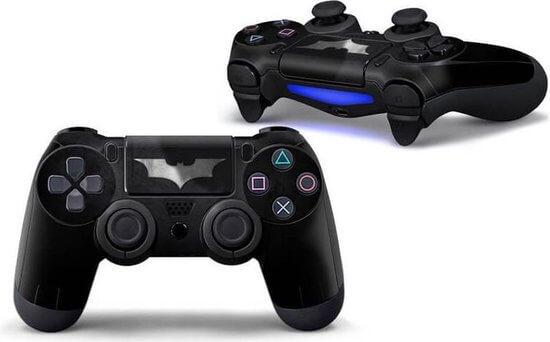 Batman PS4 controller skin