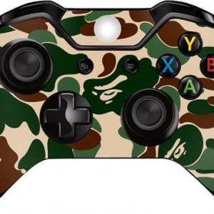 Camo forest Xbox One controller skin