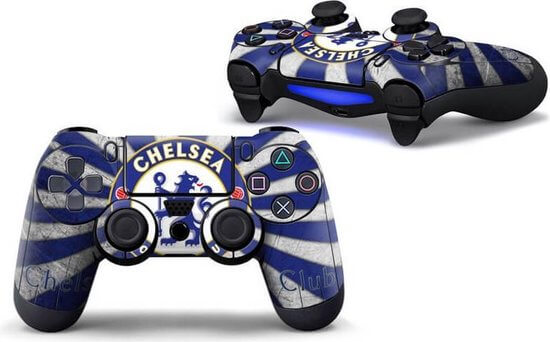Chelsea Logo PS4 controller skin