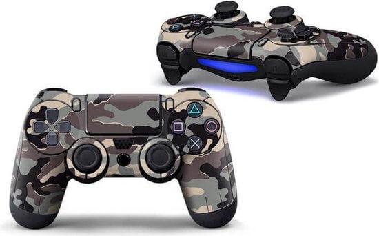 Desert Army PS4 controller skin