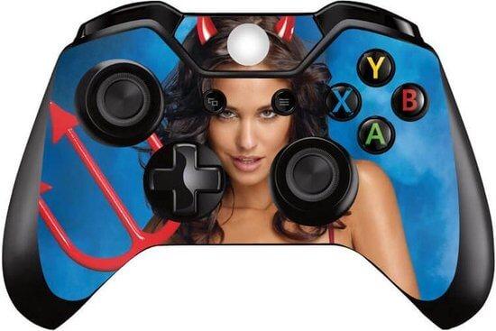Devil Girl Xbox One controller skin
