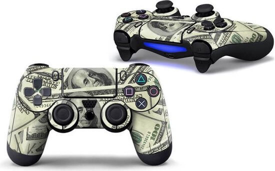 Dollars PS4 controller skin