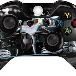 F1 Lewis Hamilton Xbox One controller skin