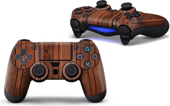 Hout PS4 controller skin