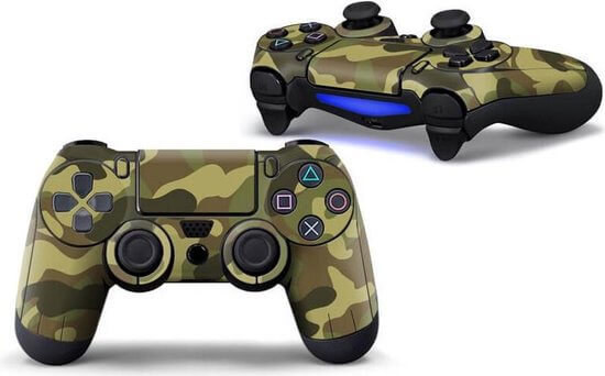 Navy Army PS4 controller skin