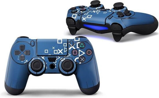Playstation Pattern PS4 controller skin