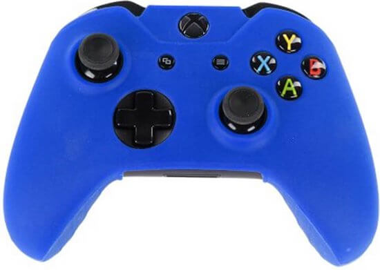 Siliconen hoes purecolor Blauw voor Xbox One controller