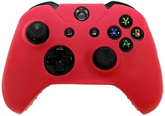 Siliconen hoes purecolor Rood voor Xbox One controller