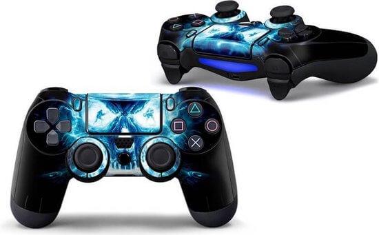 Skull lightning PS4 controller skin