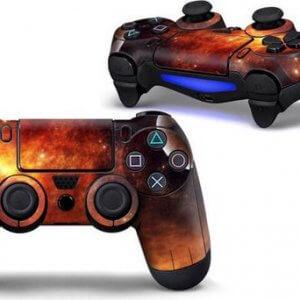 Sun PS4 Controller Skin