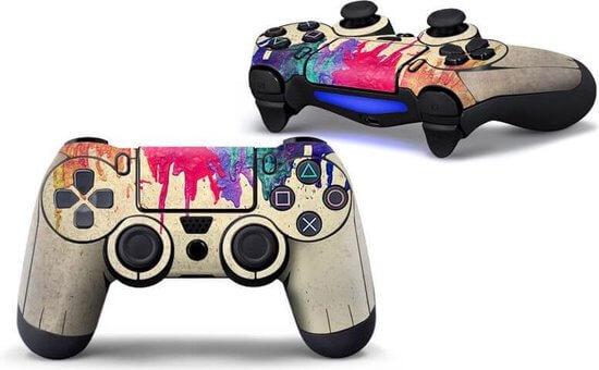 Verf druppels PS4 Controller Skin