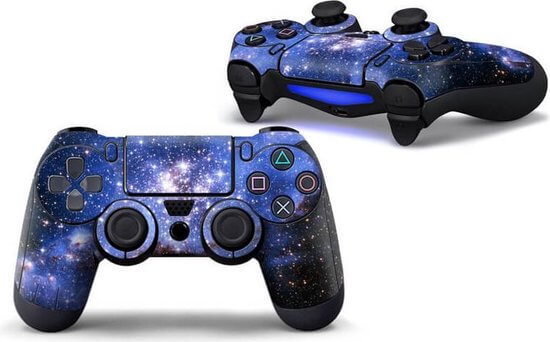Space PS4 controller skin
