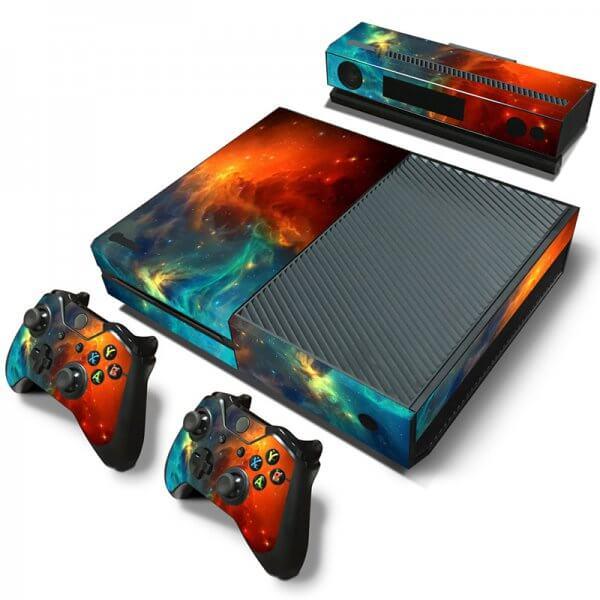 Galaxy Xbox one skin