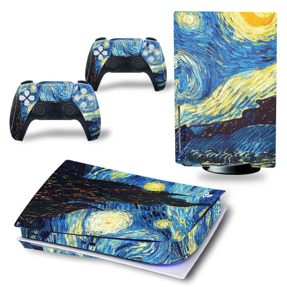 van Gogh PS5 skin