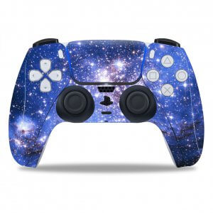 Space PS5 controller sticker