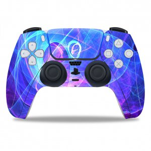 Blue Miracle PS5 controller sticker